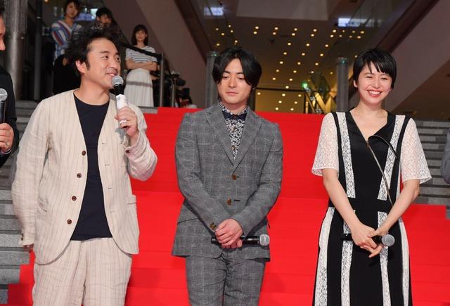 ムロツヨシ、山田孝之、長澤まさみ/映画『50回目のファーストキス』レッドカーペットイベント