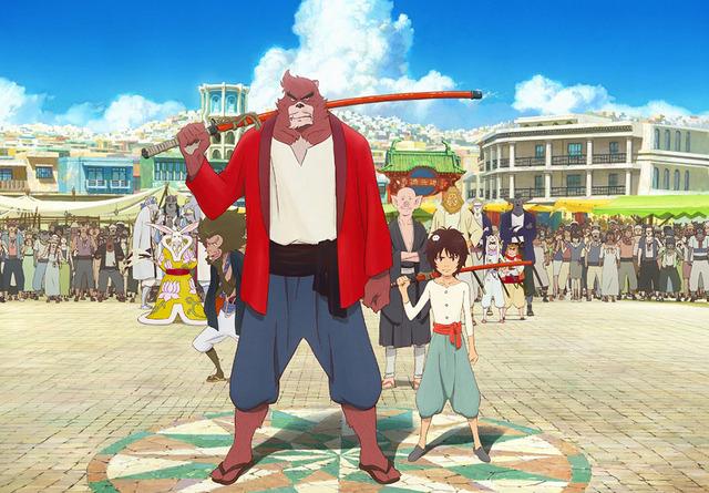 『バケモノの子』-(C) 2015 THE BOY AND THE BEAST FILM PARTNERS