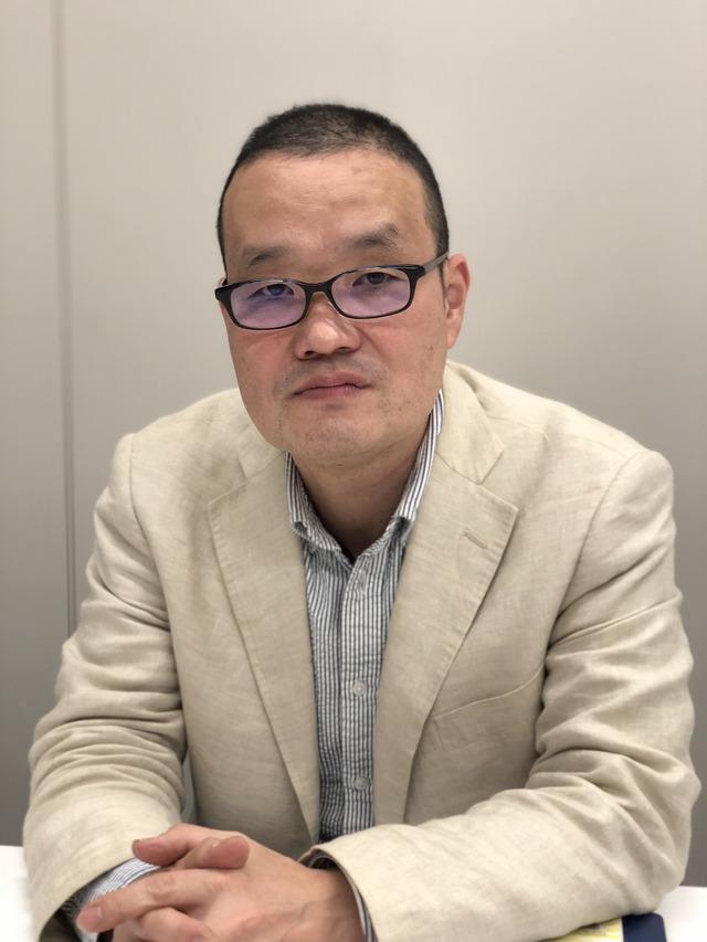 中田秀夫監督 (C)2018映画「スマホを落としただけなのに」製作委員会