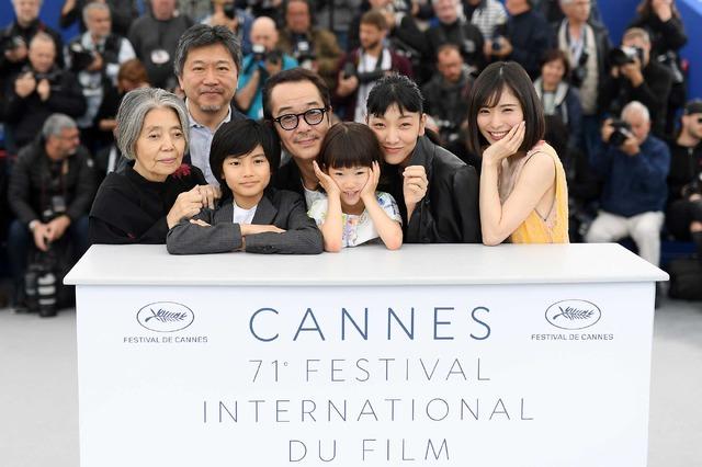『万引き家族』第71回カンヌ国際映画祭   (C)2018 Getty Images