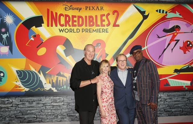 『インクレディブル・ファミリー』L.Aプレミア(c)2018 Disney/Pixar. All Rights Reserved.