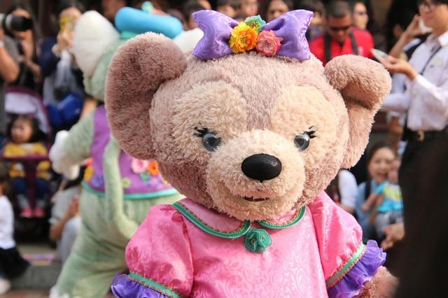 パレードに登場する東京ディズニーシー生まれのシェリーメイ