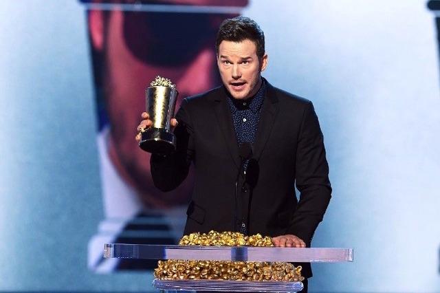 クリス・プラット「2018 MTV Movie & TV Awards」