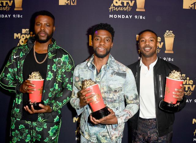 『ブラックパンサー』キャスト陣「2018 MTV Movie & TV Awards」