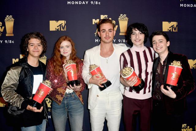 「ストレンジャー・シングス」キャスト陣「2018 MTV Movie & TV Awards」