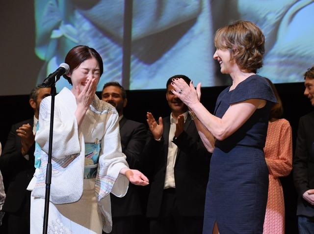 常盤貴子、ナタリー・バイ/フランス映画祭2018 オープニングセレモニー