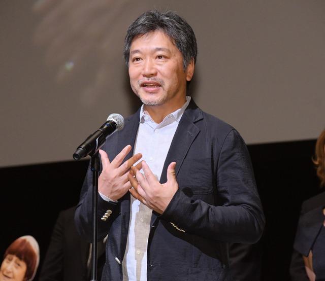 是枝裕和監督/フランス映画祭2018 オープニングセレモニー