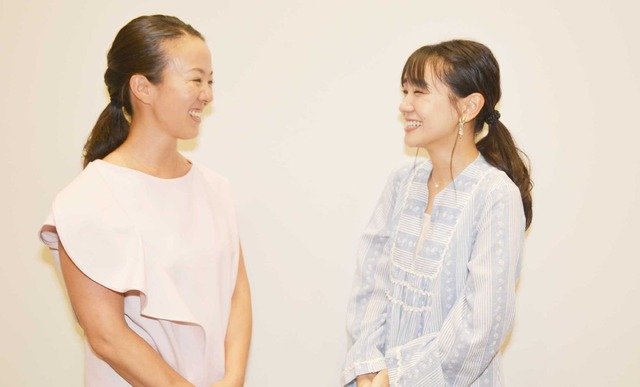 たじまなおこ監督×奈緒『いつか、会える日まで』/photo:Kyoko Akayama
