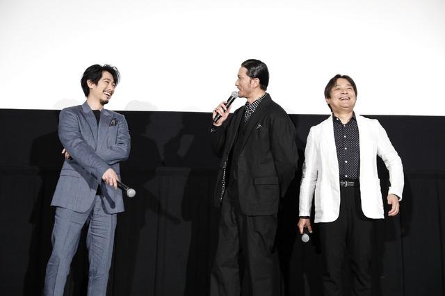 『空飛ぶタイヤ』大ヒット御礼舞台挨拶(c)2018映画「空飛ぶタイヤ」製作委員会