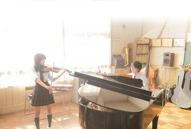『四月は君の嘘』(C)2016映画「四月は君の嘘」製作委員会 (C)新川直司/講談社