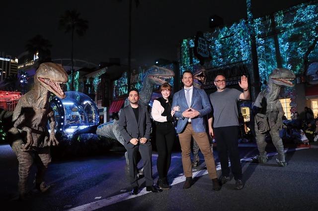 『ジュラシック・ワールド/炎の王国』スペシャルイベント at ユニバーサル・スタジオ・ジャパン(C)Universal Pictures