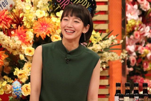 吉岡里帆「ホンマでっか!?TV」2時間SP (C)フジテレビ