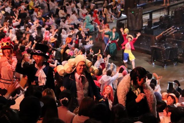 「ワンピース・プレミアショー」一夜限りのスぺシャル・グリーティング!