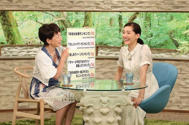 綾瀬はるか「サワコの朝」 (C) MBS・TBS