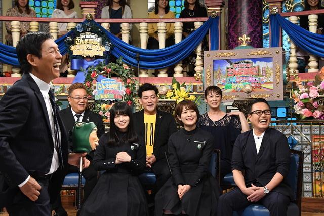 「踊る踊る踊る!さんま御殿!! この夏超アツい美女&最強おバカ軍団暴走祭」 (C)NTV