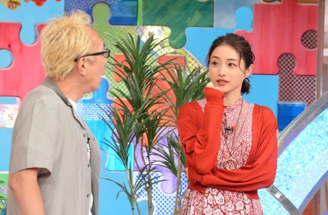 石原さとみ&所ジョージ「笑ってコラえて!」2時間SP (C) NTV