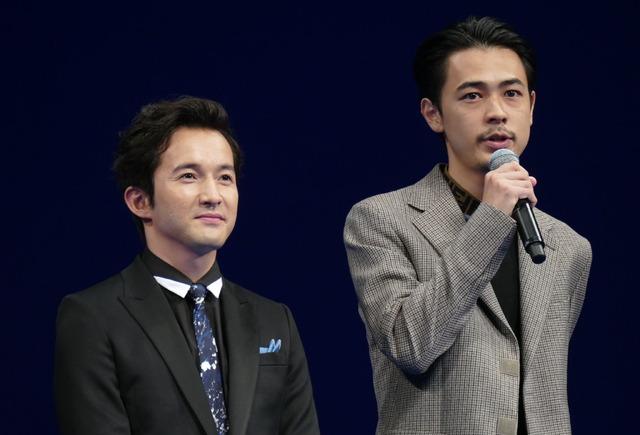 浅利陽介、成田凌/『劇場版 コード・ブルー -ドクターヘリ緊急救命-』完成披露試写会