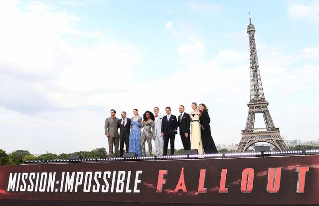 『ミッション:インポッシブル/フォールアウト』ワールドプレミア (C)2018 Paramount Pictures. All rights reserved.