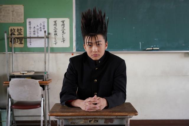 伊藤真司役の伊藤健太郎/「今日から俺は!!」