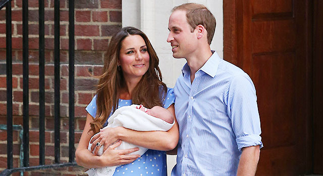 キャサリン妃&ウィリアム王子&ジョージ王子-(C) Getty Images