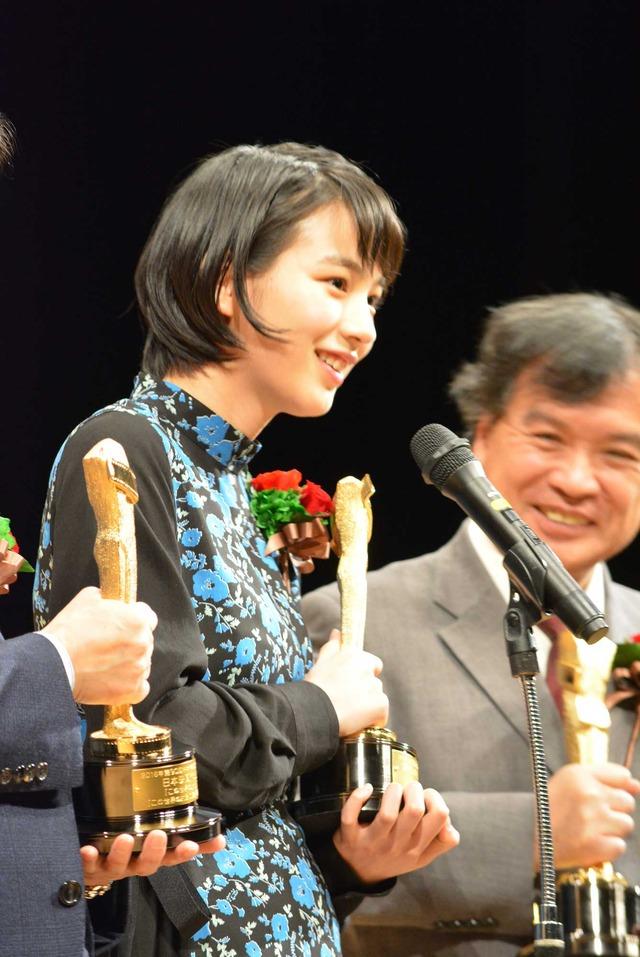 のん/「第90回キネマ旬報ベスト・テン表彰式」