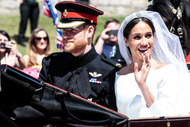 ヘンリー王子&メーガン・マークル-(C)Getty Images