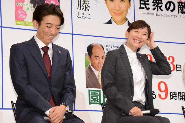 篠原涼子&高橋一生/ドラマ「民衆の敵~世の中、おかしくないですか!?~」ファンミーティング