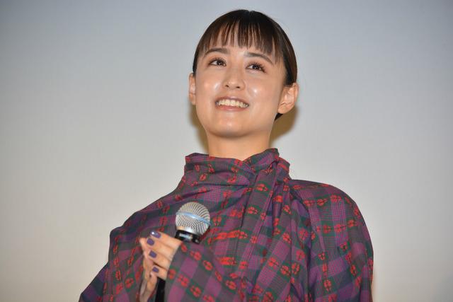 山本美月/「銀魂2-世にも奇妙な銀魂ちゃん-」舞台挨拶