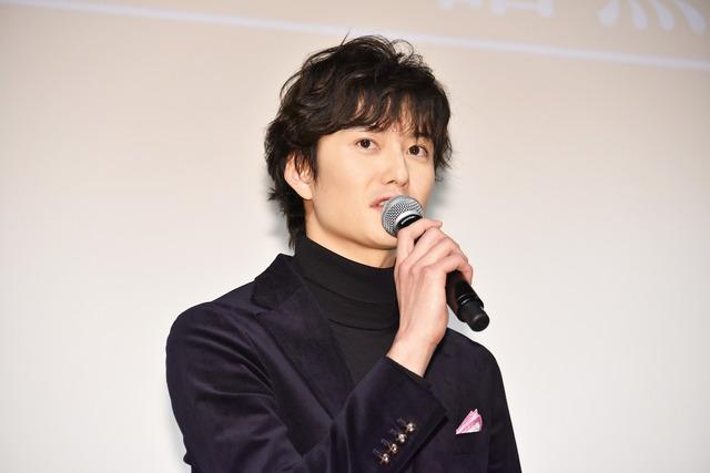岡田将生/WOWOW「連続ドラマW 名刺ゲーム」の第1話完成披露試写会