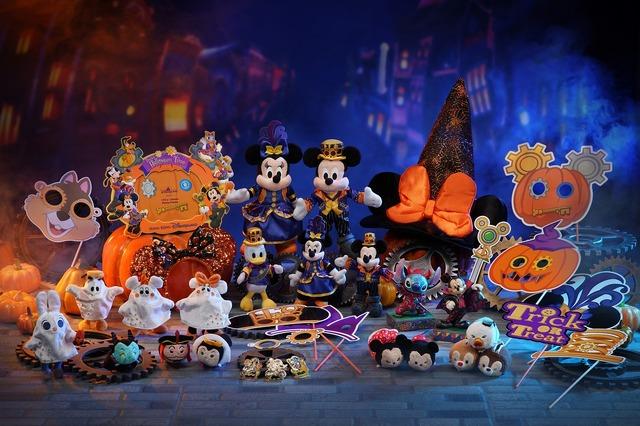 大勢のキャラクターと秋を満喫!「ディズニー・ハロウィーン・タイム」