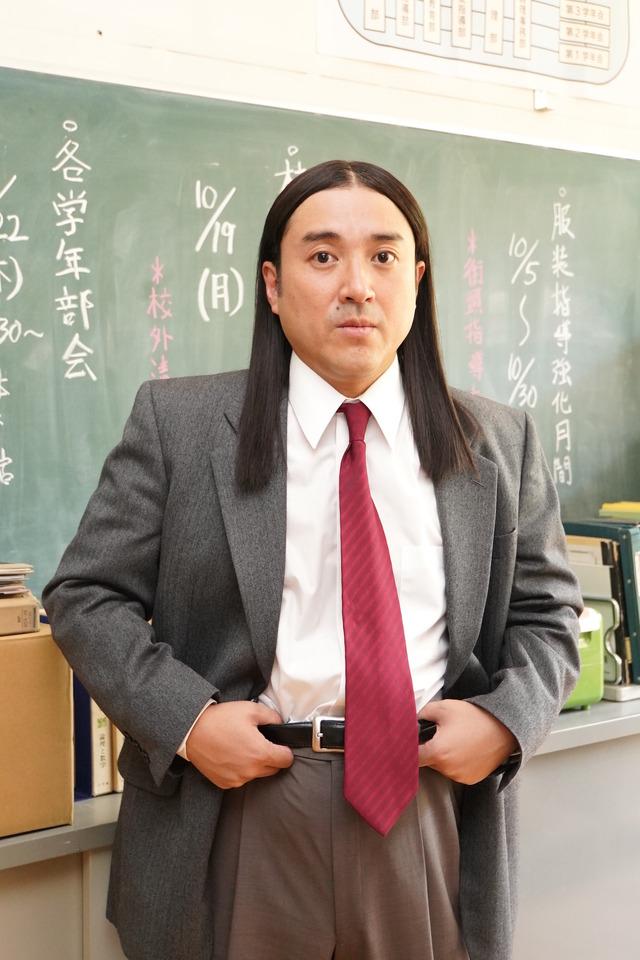 ムロツヨシ(椋木先生役) 「今日から俺は!!」