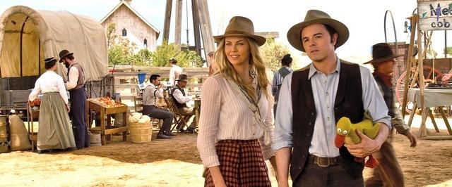 シャーリーズ・セロン/『荒野はつらいよ ~アリゾナより愛をこめて~』 (C) Universal Pictures