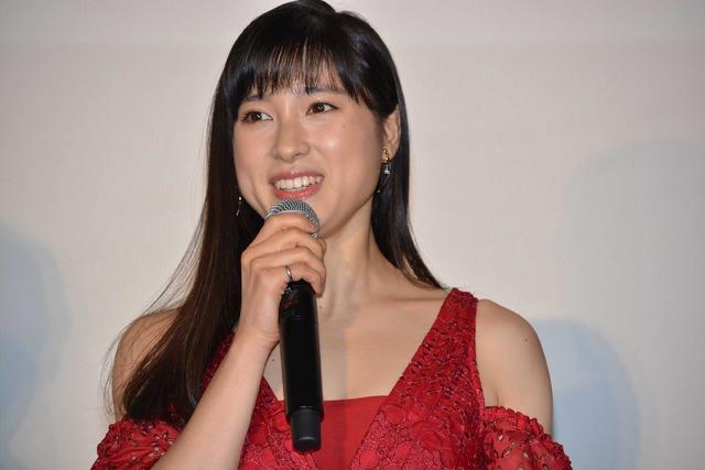 土屋太鳳/『8年越しの花嫁』初日舞台挨拶