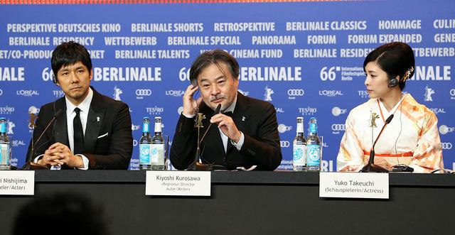 記者会見/『クリーピー 偽りの隣人』第66回ベルリン国際映画祭