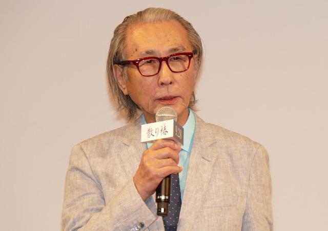 木村大作監督/『散り椿』完成報告記者会見