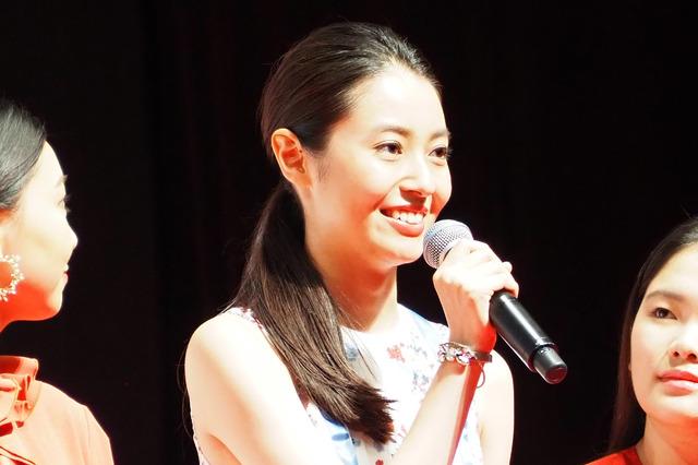 田辺桃子/SUNNY 強い気持ち・強い愛』完成披露舞台挨拶