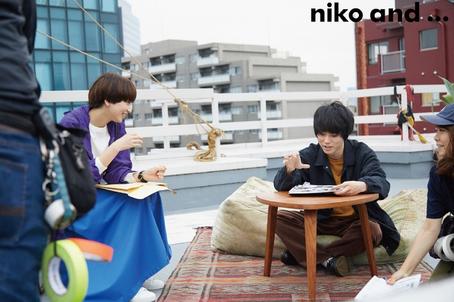 「niko and…(ニコアンド)」であうにあうMOVIE「カケル」メイキング
