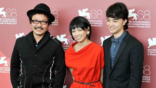 『ヒミズ』第68回ヴェネチア国際映画祭での記者会見
