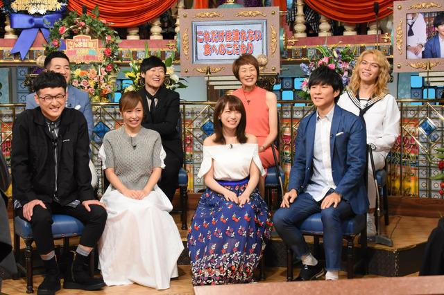 「踊る踊る!さんま御殿!!超話題バカ売れ芸能人 秋のグルメ大豊作祭り」(C)NTV