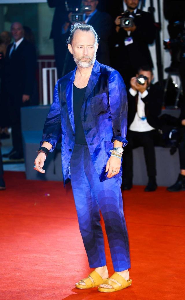 トム・ヨーク/ヴェネチア国際映画祭 (C) Getty Images