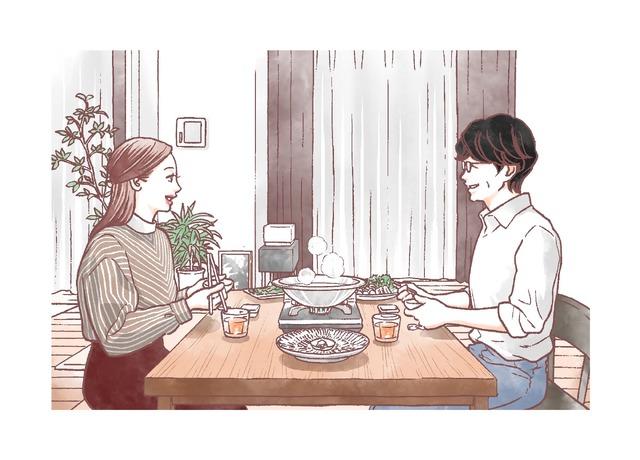 マキヒロチ『食べる女』イラスト(c)マキヒロチ