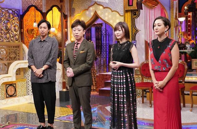 「今夜くらべてみました」 (C) NTV