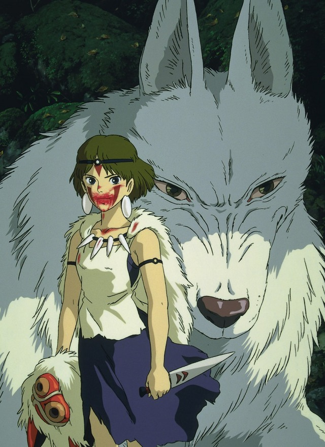 『もののけ姫』(C)1997 Studio Ghibli・ND