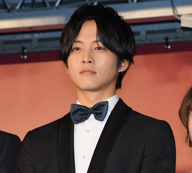 松坂桃李/映画「孤狼の血」完成披露試写会