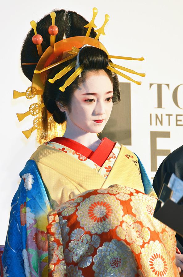 安達祐実(『花宵道中』)/第27回東京国際映画祭レッドカーペット