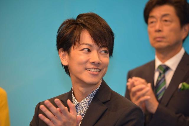 佐藤健/連続テレビ小説「半分、青い。」出演者発表会見