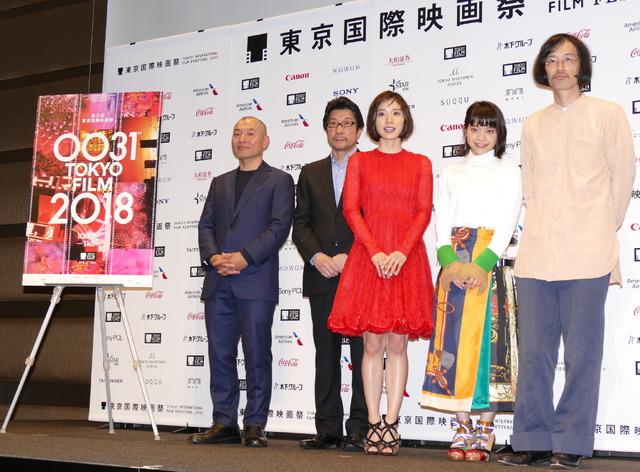 10月25日に開幕!/第31回東京国際映画祭(TIFF)のラインナップ発表会