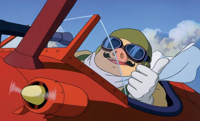 『紅の豚』 (C)1992 Studio Ghibli・NN