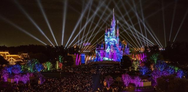 ナイトタイムスペクタキュラー「Celebrate! Tokyo Disneyland」☆
