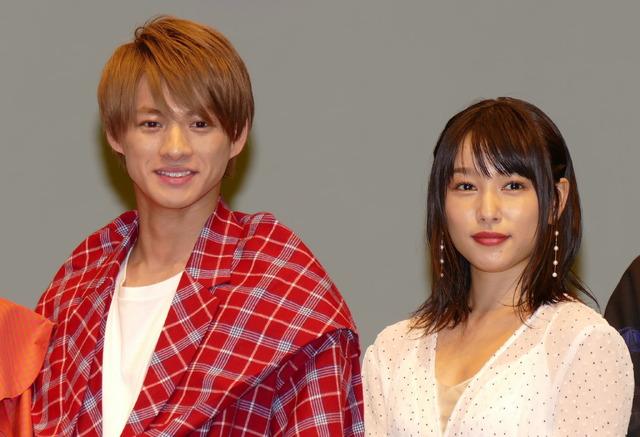 平野紫耀(King & Prince) 桜井日奈子 『ういらぶ。』完成披露試写会